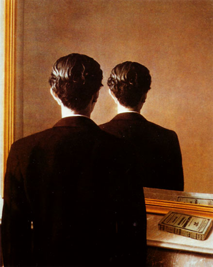 mirror magritte
